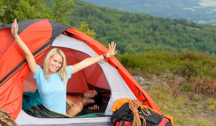 Image of a girl smiling in a tent  sc 1 st  Hiking Mastery & How to Clean a Tent: Step-by-Step Guide To Caring For Your Tent