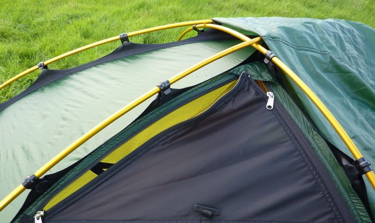 Image showing roof vent and pole and clip system