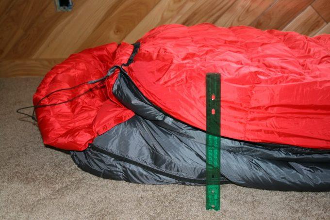 size of bison sleeping bag