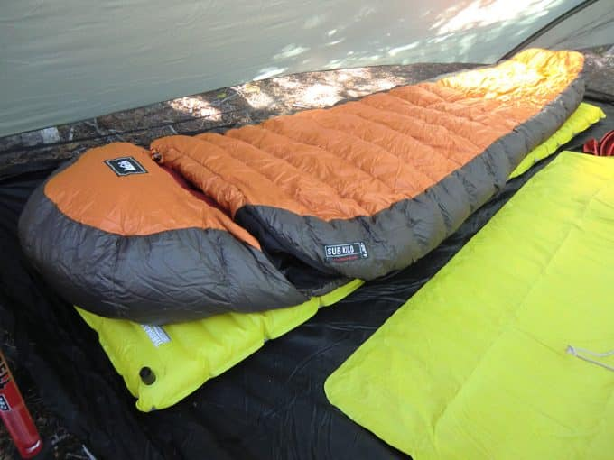 sleeping bag synthetic