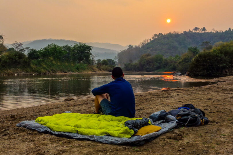 thermarest corus hd in nature