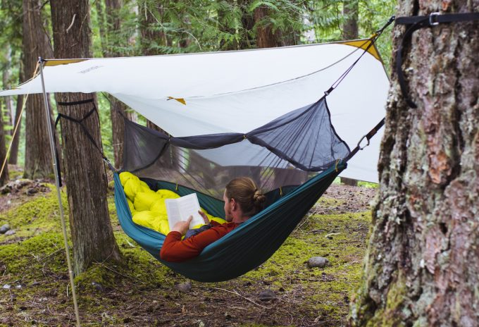thermarest corus in a hammock