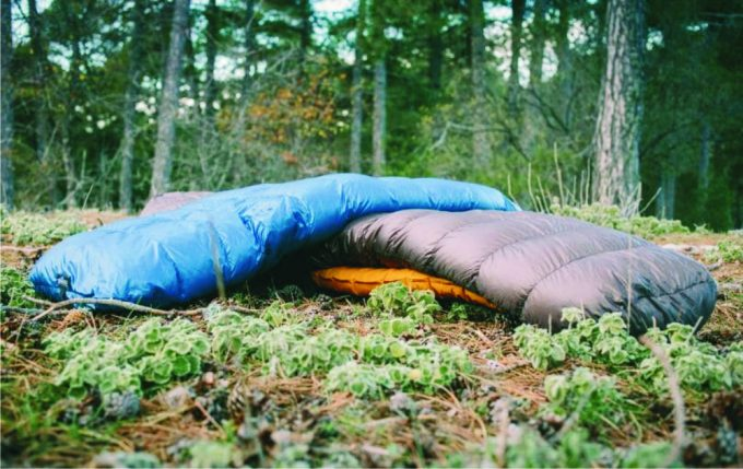 two-sleeping-bags