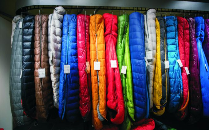 variety-of-sleeping-bags