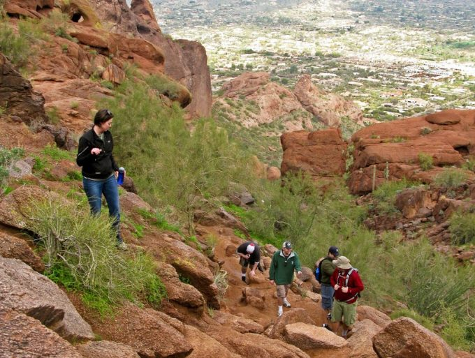 Camelback Mountain's Echo Canyon