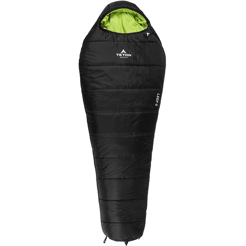 TETON SPORTS LEEF SLEEPING BAG: THE BEST ULTRALIGHT SYNTHETIC SLEEPING BAG
