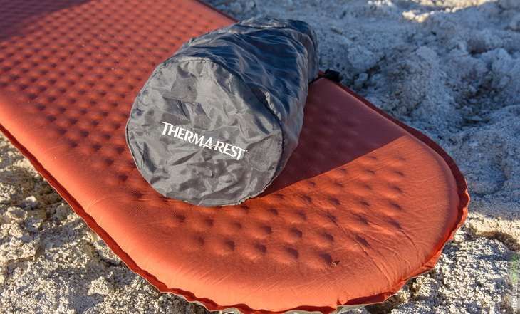 Therm-a-Rest ProLite Mattress on the ground