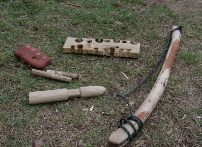 5 elements of a bow drill