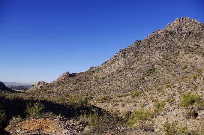 The Piestewa peak in phoenix