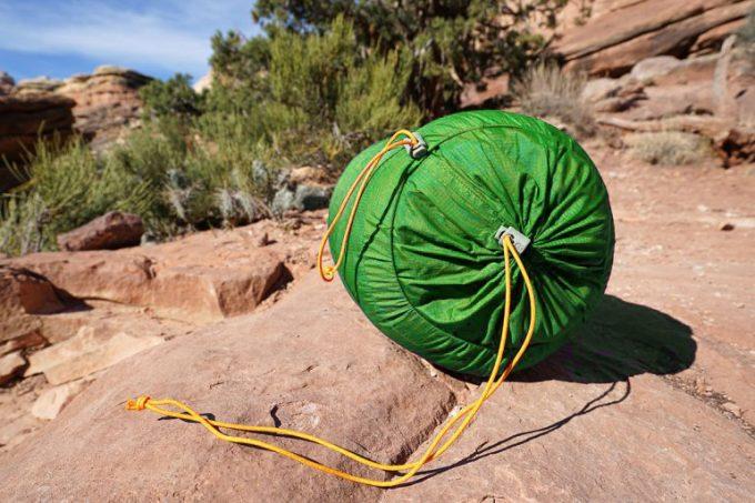 large sack for sleeping bag