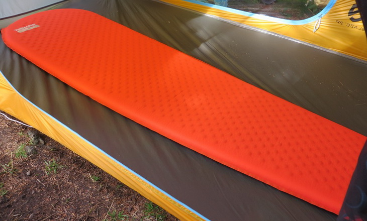 Therm-a-Rest ProLite Mattress in a tent