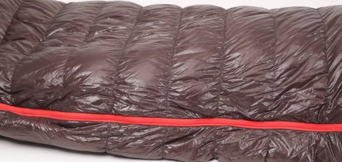 Image showing the Nemo Nocturne Sleeping Bag on a white floor