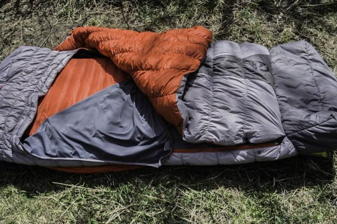 Image showing the Nemo Concerto Down Sleeping Bag on the grass