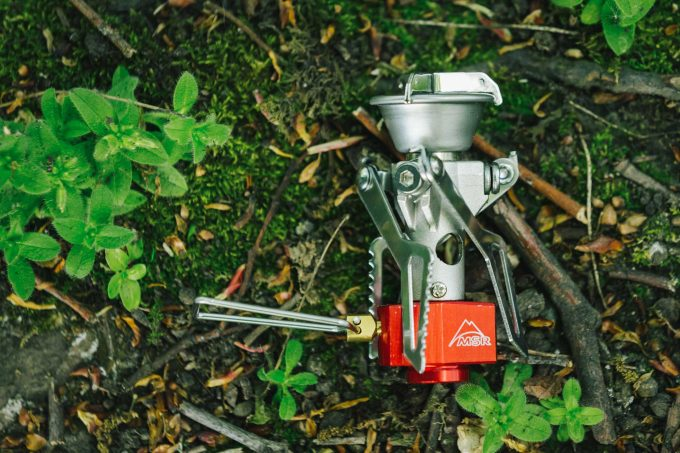Precision flame control of MSR Pocket Rocket Stove takes your meal out of the wind's hands