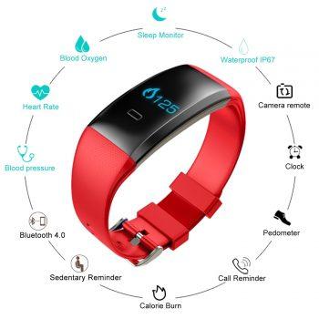 Ten Tenco Fitness Tracker Smart Watch