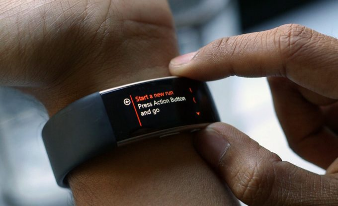 Image showing the microsoft band 2 best fitness tracker