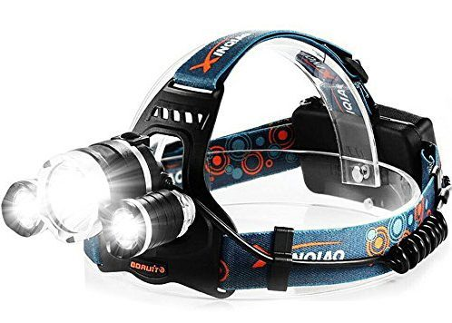 Totobay 5000Lm LED Headlamp