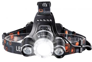 icefox Rechargeable Headlamp