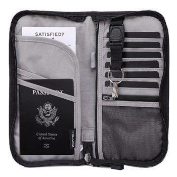 Zoppen RFID Travel Wallet