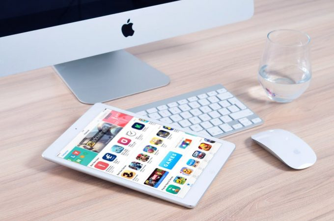 app store on tablet