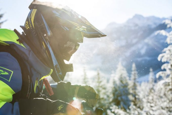 waterproof glove grip on bike