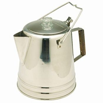 Texsport Stainless Steel Coffee Pot Percolator