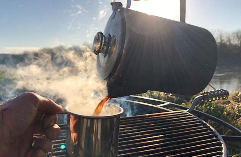 camping coffee pot