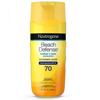 Neutrogena Beach Defense Sunscreen Body Lotion Broad Spectrum