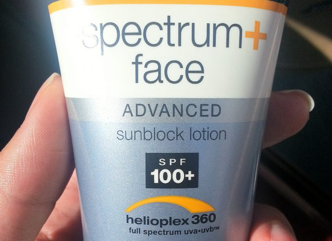 sunscreen with 100+ spf factor