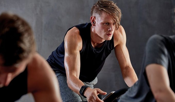 working out with smart watch