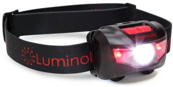 LuminoLite Ultra Bright LED Headlamp
