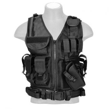Lancer Tactical Cross Draw Adjustable Vest