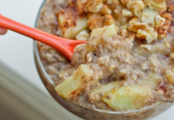 Camp Style Porridge apple pie seasoning