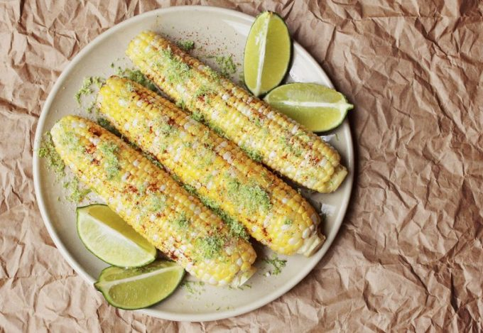 Chilli Lime Corn on the Cob