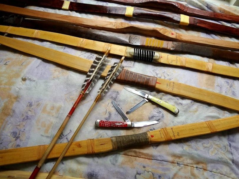 how to make a hunting bow