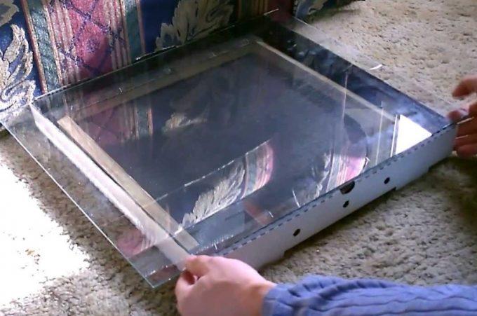 Pizza Box Solar Dehydrator