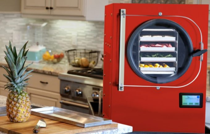 freeze drying food in home freeze dryer