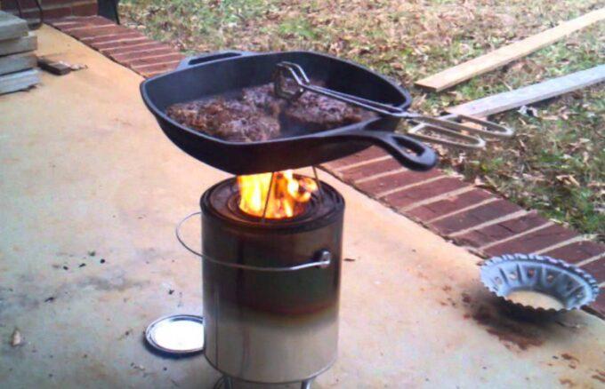 stable diy stove