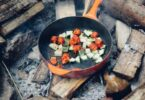 vgetarian camping recipes featured