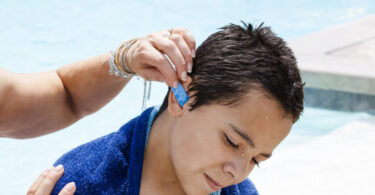 how do you get water out of your ear